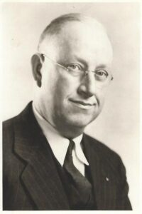Former high school principal Olin Dryer