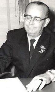 Kaukauna Mayor 1946-1966 Joseph F. Bayorgeon