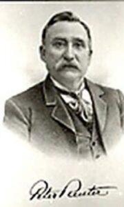 Kaukauna Mayor 1887-1888 Peter Reuter