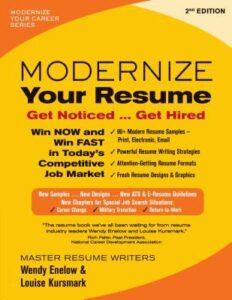 Modernize Your Resume Cover